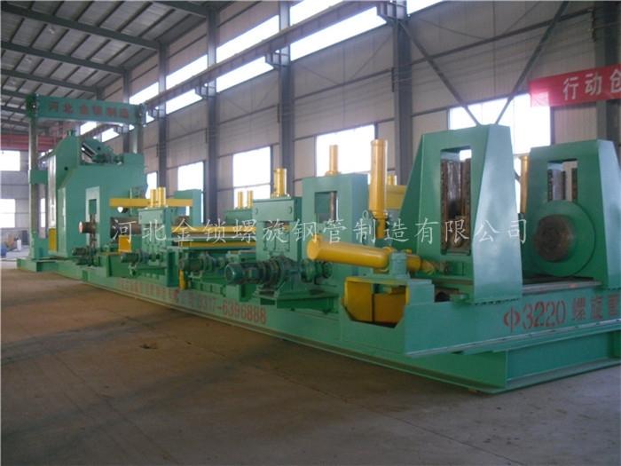 解析螺旋钢管生产设备机组的重要环节在哪里
