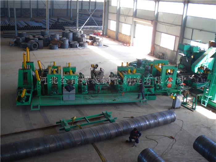 螺旋管生产线螺旋钢管如何做消磁处理