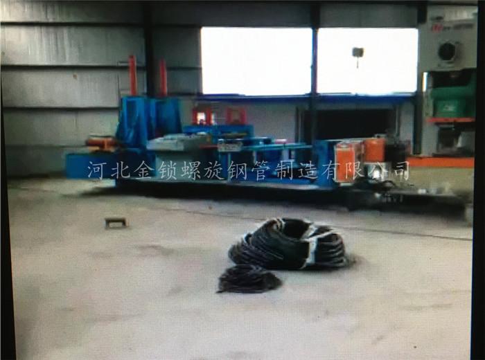 桥式滤水焊管设备